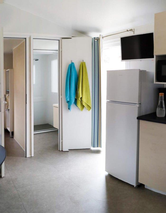 Séjour du Mobil-Home 3 chambres